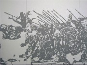 Alexanderschlacht / Simon Wachsmut - Aufkleber