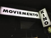 Moviemento / Kreuzberg - Leuchtkasten Beklebung