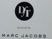 Marc Jacobs / DfT . Wandgrafik